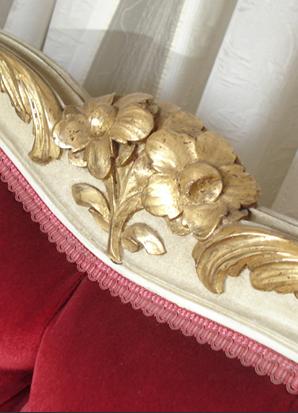 annie v ne peintre d co patine sur meubles lit corbeille patin. Black Bedroom Furniture Sets. Home Design Ideas